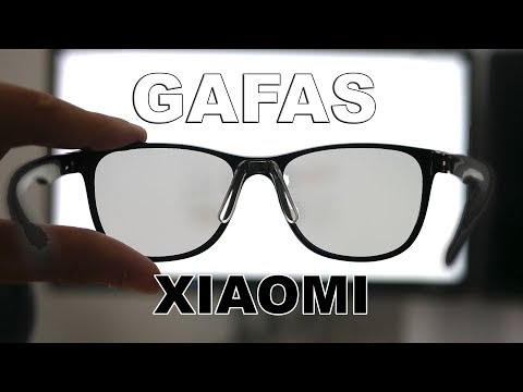 3f1a7ada30 Gafas Xiaomi Roidmi B1 anti luz azul para móviles, tablets o PC - YouTube