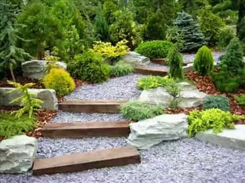 design garden ideas i garden design ideas using gravel - Garden Design Ideas