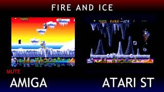 Amiga V Atari ST - Fire And Ice