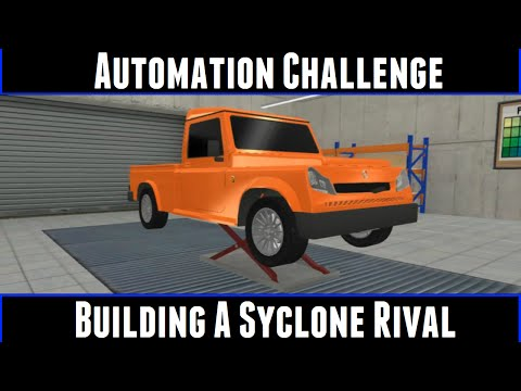 Automation Challenge Building A Syclone Rival