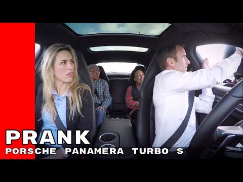 2017 Porsche Panamera Turbo S Ride Share Prank
