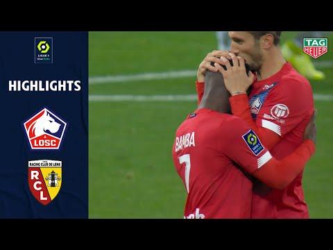 LOSC LILLE - RC LENS (4 - 0) - Highlights - (LOSC - RCL) / 2020-2021