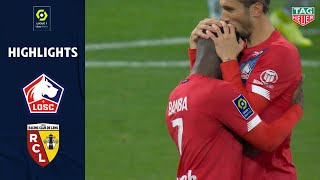 LOSC LILLE - RC LENS (4 - 0) - Highlights - (LOSC - RCL) / 2020-2021