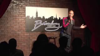 Ryan Goldsmith at Broadway Comedy Club