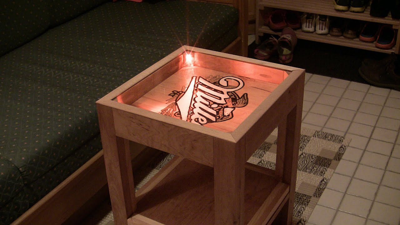 Building A Small Side Table