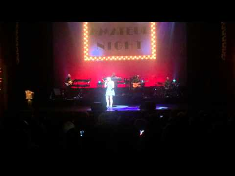 THIS IS A MANS WORLD by JAMES BROWN live cover at THE APOLLO THEATER by Kaitlyn Poli