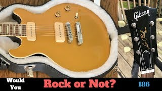 Double the Cutaway - Double the Fun? 2011 Gibson Les Paul Double Cut P90 Gold Top | WYRON 186 thumbnail
