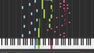 Corpse Bride : The Piano Duet - Synthesia