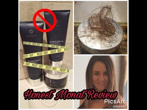 Monat Honest Review Hair Loss Color Fade Still Frizzy