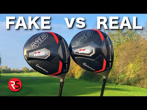 I bought a FAKE golf club from WISH......SHOCKING RESULTS