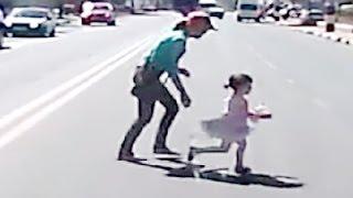 Беспечные мамаши и их детки, подборка дтп