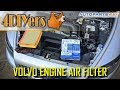 Gambar cover DIY: Volvo S40 C30 V50 C70 Engine Air Filter Replacement