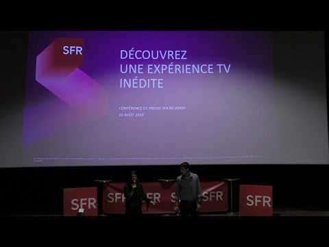 SFR Réunion  - Conférence de presse des nouvelles offres BOX de SFR