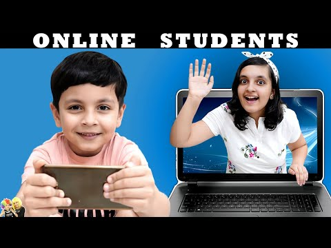 ONLINE STUDENTS | Comedy Video | Types Of Students | Aayu And Pihu Show
