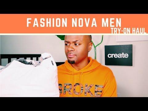 Fashion Nova MEN Played It SAFE! Try-On Haul   demeterjoe
