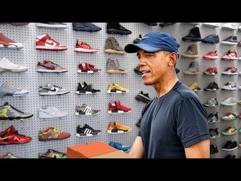 PARODY: Barack Obama Goes Sneaker Shopping
