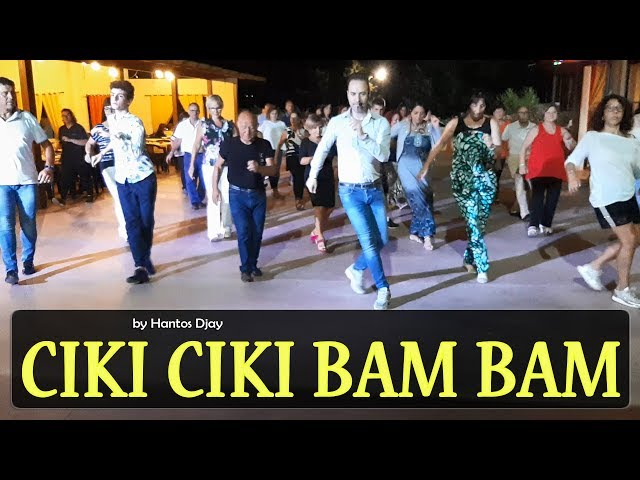 CIKI CIKI BAM BAM coreo Hantos Djay - Balli di Gruppo 2019