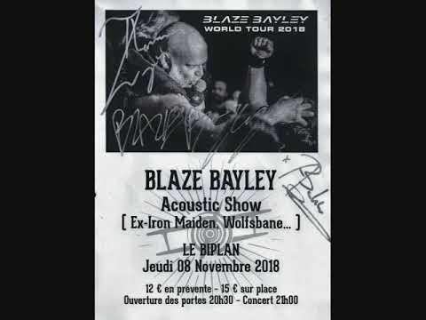 Blaze Bayley - December Wind Acoustic Tour - Le Biplan, Lille (01.11.2018 - Full Audio) Mp3
