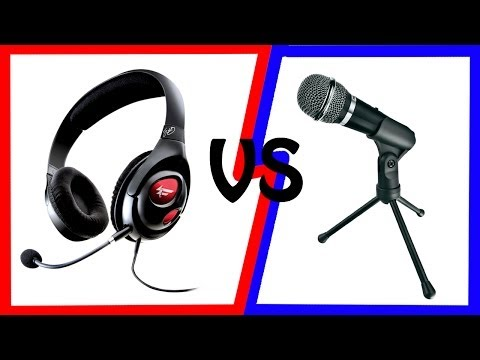 Creative HS-800 Fatality VS Trust Starzz Microphone