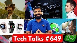 Tech Talks #649 - Flexible Phone Launched, AirTel 4G, Whatsapp Decryption, Google Maps