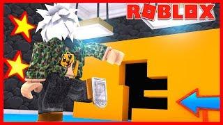 ATRAVESANDO LAS PAREDES de ROBLOX *Hole in the Wall*