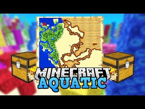 Let's Play Minecraft Deutsch Aquatic 🌊 Schatzkarte | Minecraft Deutsch Aquatic #005