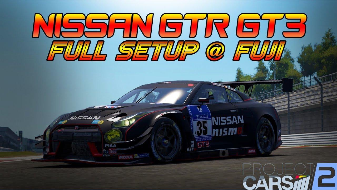 project cars 2 nissan gtr gt3 full race setup fuji youtube. Black Bedroom Furniture Sets. Home Design Ideas