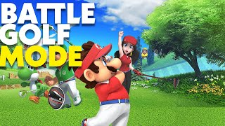 Mario Golf: Super Rush - Battle Golf Mode is Simple But Intense
