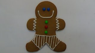 how to make super-sized gingerbread man