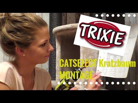 Catselect Kratzbaum Modulsystem von Trixie im Test - Folge 2 Montage