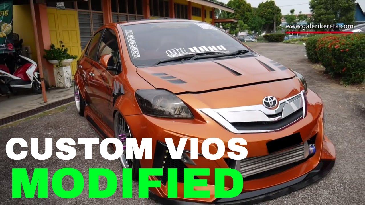 Sticker Design For Motorcycle >> Toyota Vios VIP Style Autoshow Car   Galeri Kereta - YouTube