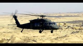 UH-60 Black Hawk helicopter engine - idle sound effect