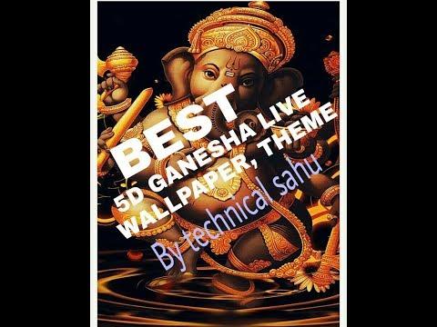 5D Wallpaper, Theme Of Ganesha