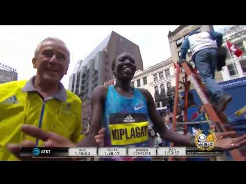 Edna Kiplagat Wins Women's Division At Boston Marathon 2017 HD