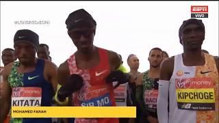 London Marathon 2019 - Men's race - Highlights