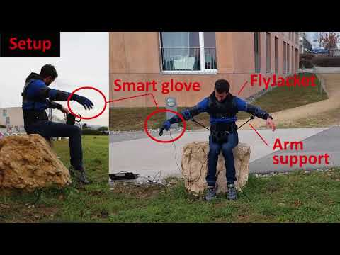 FlyJacket: An Upper Body Soft Exoskeleton for Immersive Drone Control