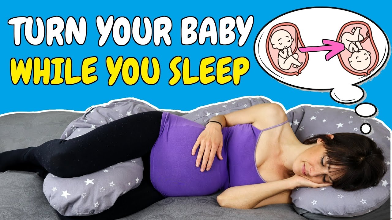 Best Sleeping Position To Turn A Breech Baby The Only Sleeping Position To Reliably Turn A Baby Youtube