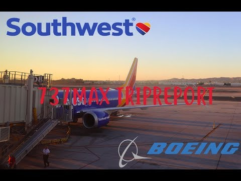 SOUTHWEST MAX8 TRIPREPORT   Southwest Airlines (Economy)   PHX to LAX   Boeing 737MAX8