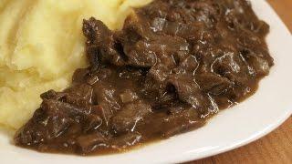Как приготовить Грибной соус из сушёных грибов / Homemade Mushroom sauce ♡ English subtitles