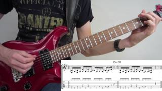 Cowboys From Hell - Pantera : Classic Riff Guitar Lesson