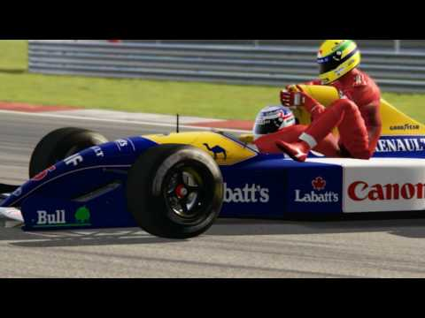 Someone's Made A Mod In Assetto Corsa Of Mansell Giving Senna A Lift