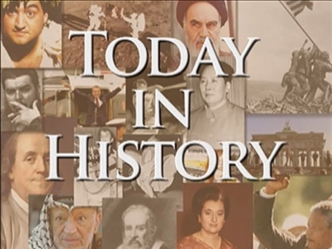 Today in History for April 21st