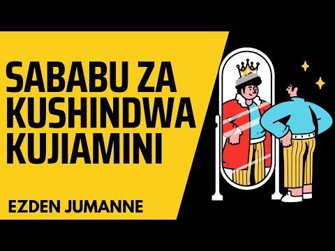 KUJIAMINI / SELF CONFIDENCE By Ezden Jumanne
