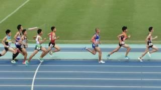 2016年度全中通信兵庫大会 男子1500m決勝