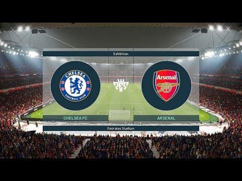 PES 2019 Chelsea V Arsenal Full Match