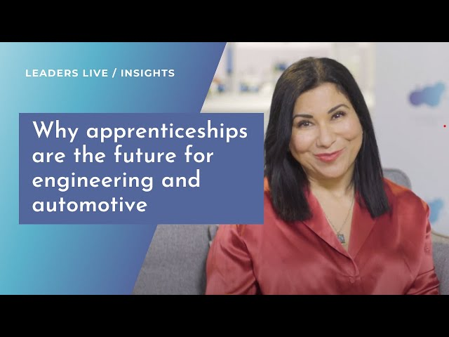 Why apprenticeships are the future for engineering and automotive | National Apprenticeship Week
