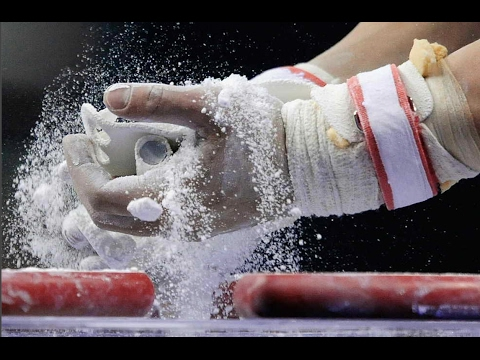 HOW TO PREP GYMNASTICS GRIPS TIPS AND TRICKS (Step by Step)  | SHAWN JOHNSON