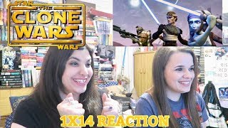 "THE CLONE WARS 1X14 ""DEFENDERS OF PEACE"" REACTION"
