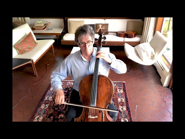 Eliot Bailen plays Bach Cello Suite No. 4, Prelude - BACH: 6 WAYS