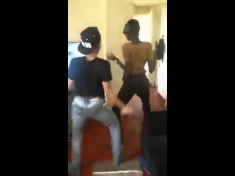 Black gay guys twerking